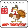 Happy Thanksgiving Holiday turkey