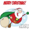3407-super-santa-claus-fly  gif, png, jpg, eps, svg, pdf