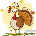 3504-Turkey-Mascot-Cartoon-Character