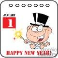 3735-New-Year-Baby-Cartoon-Callendar