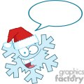 3781-cartoon-snowflake-with-speech-bubble  gif, png, jpg, eps, svg, pdf