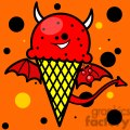 evil ice cream cone