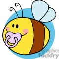 4121-fflying-baby-bee-cartoon-character  gif, png, jpg, eps, svg, pdf