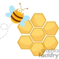 bee and his hive gif, png, jpg, eps, svg, pdf