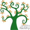greenl swirl tree in the fall gif, png, jpg, eps, svg, pdf