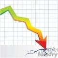 crashing market