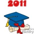 4296-Graduate-Blue-Cap-With-Diploma