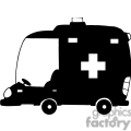 4331-Cartoon-Ambulance-Silhouette-Car