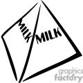 milk outline gif, png, jpg, eps, svg, pdf