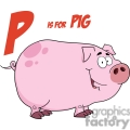 p is for pig gif, png, jpg, eps, svg, pdf