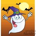 cartoon ghost a dusk gif, png, jpg, eps, svg, pdf