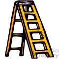 yellow ladder