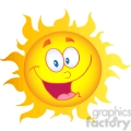 12896 rf clipart illustration happy sun cartoon character  gif, png, jpg, eps, svg, pdf