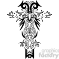 cross clip art tattoo illustrations 036