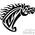 tribal horse head