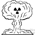 nuclear explosion war 080  gif, png, jpg, eps, svg, pdf