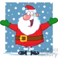5156-Jolly-Santa-Claus-With-Open-Arms-Royalty-Free-RF-Clipart-Image