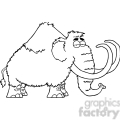 5108-Mammoth-Cartoon-Character-Royalty-Free-RF-Clipart-Image