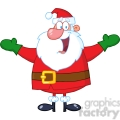 5155-Jolly-Santa-Claus-With-Open-Arms-Royalty-Free-RF-Clipart-Image