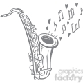 sax playing a love song