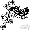 chinese swirl floral design 073  gif, png, jpg, eps, svg, pdf