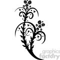 chinese swirl floral design 092  gif, png, jpg, eps, svg, pdf