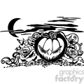 Halloween clipart illustrations 044 vector clip art image