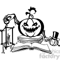 Halloween clipart illustrations 009