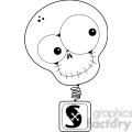 Skull BobbleHead