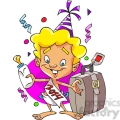 2014 baby new year with suitcase  gif, png, jpg, eps, svg, pdf