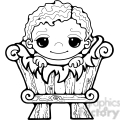 baby jesus 02  clipart  gif, png, jpg, eps, svg, pdf