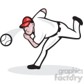 baseball player pitching a ball  gif, png, jpg, eps, svg, pdf