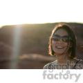 smiling female sunset  jpg