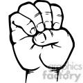 sign language letter e gif, png, jpg, eps, svg, pdf