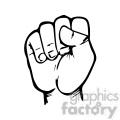 sign language letter s gif, png, jpg, eps, svg, pdf