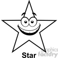geometry star cartoon face math clip art graphics images  gif, png, jpg, eps, svg, pdf