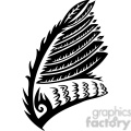 vinyl ready vector wing tattoo design 084