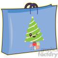Gift Bag cartoon character