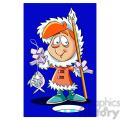 kid eskimo ice fishing  gif, png, jpg, eps, svg, pdf
