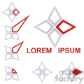 logo template star 004