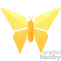 Butterfly polygon animal art