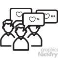 group like mood icon  gif, png, jpg, eps, svg, pdf