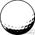 golf ball vector illustration  gif, png, jpg, eps, svg, pdf
