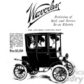 1900 vintage electric car ad vintage 1900 vector art GF