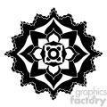 mandala geometric vector design 019