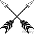 crossed arrow vector design 15