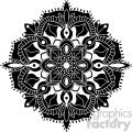 mandala geometric vector design 006