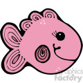 cartoon vector fish 004 c