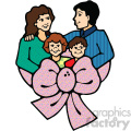 cartoon family vector art