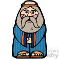 Noah cartoon vector art